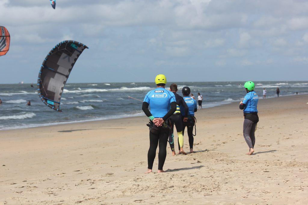 kitesurfles in castricum